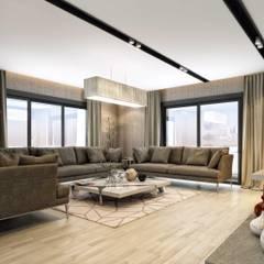 Living room by ANTE MİMARLIK