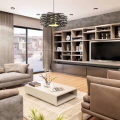 Ruang Keluarga oleh ANTE MİMARLIK , Modern