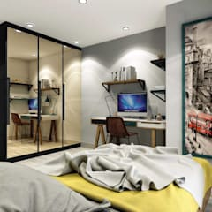 Teen bedroom by ANTE MİMARLIK , Modern