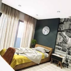 غرفة نوم مراهقين  تنفيذ ANTE MİMARLIK