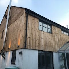 Lanner, Cornwall - Cladding Supply Only:  Detached home by Building With Frames