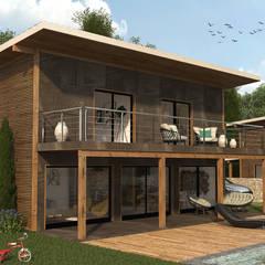 Rumah kayu by LABVIZ