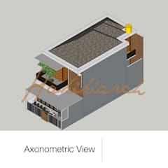 House/Office: Atap oleh Hakikiarch Architect Freelancer, Modern