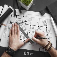 Family Kitchen: Terrazas de estilo  por Home Concept MX
