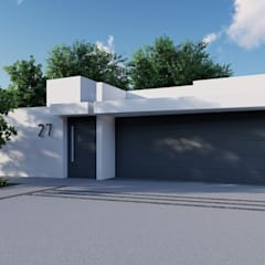Detached home by GRUPO VOLTA,