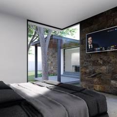 Modern style bedroom by GRUPO VOLTA Modern Stone