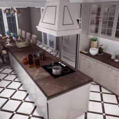 ANTE MİMARLIK  – Tellioğlu Konut:  tarz Ankastre mutfaklar