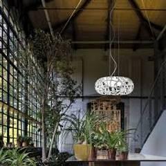 Wohnzimmer von TEXTURAS INTERIORES, Design de Interiores, Lda