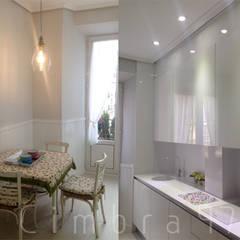 Proyecto de reforma de cocina en vivienda unifamiliar en Burgos.: Cocinas de estilo  de Cimbra47