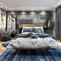 Avcılar Cadde Bostan Modern Yatak Odası ANTE MİMARLIK Modern