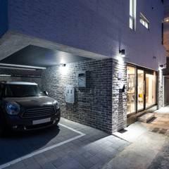 Double Garage by inark [인아크 건축 설계 디자인]