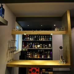 minimalistic Media room by inark [인아크 건축 설계 디자인]