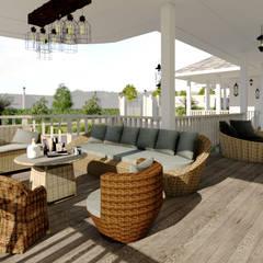 บ้านจำลอง 3D คุณแก้ม:  บ้านและที่อยู่อาศัย by บริษัท พี นัมเบอร์วัน ดีไซน์ แอนด์ คอนสตรัคชั่น จำกัด
