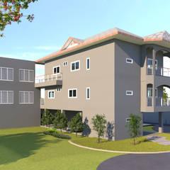 บ้านจำลอง 3D คุณตั้ม:  บ้านและที่อยู่อาศัย by บริษัท พี นัมเบอร์วัน ดีไซน์ แอนด์ คอนสตรัคชั่น จำกัด