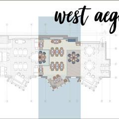 Bej Mimarlık – West Aegean Restaurant:  tarz Zeminler