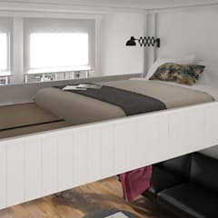 scandinavian Bedroom by cinius s.r.l.