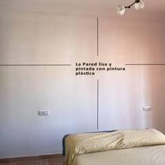 Decoración con Fotomural pared dormitorio: Dormitorios de estilo  de Fotomurales Granada