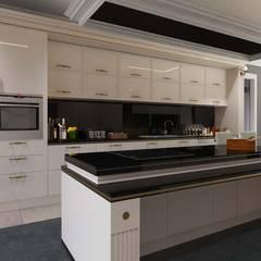 ANTE MİMARLIK  – Karadavut Villa:  tarz Mutfak üniteleri