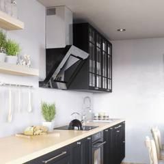 Czerń w kuchni klasycznej? Czemu nie!: styl , w kategorii Kuchnia zaprojektowany przez GLOBALO MAX