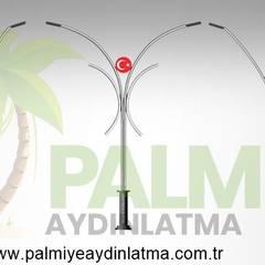 Jardines zen de estilo  por palmiye aydınlatma