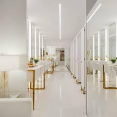 Salones de eventos de estilo  por BG arquitetura