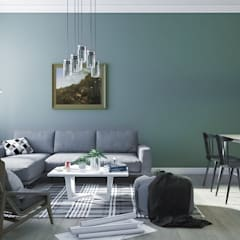 Living room by Anamorpho Studio