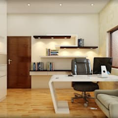 Interior: Study/office By Anamorpho Studio