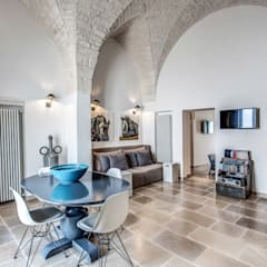 Salas / recibidores de estilo  por Studio Guerra Sas, Mediterráneo