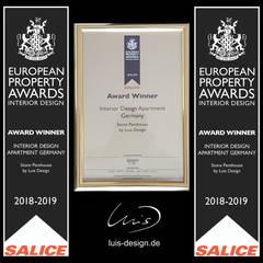 European Property Awards 2018:  Wohnzimmer von Luis Design
