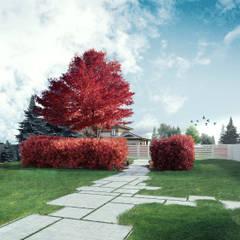 Вид на благоустройство дома: Сады в . Автор – CNTR Architects