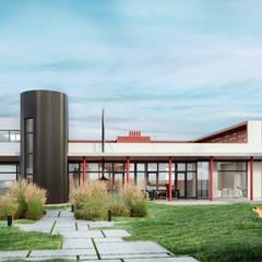 منزل ريفي تنفيذ Архитектурное бюро Center