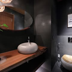 美術南五街:  浴室 by 雅群空間設計