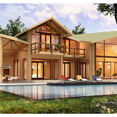 Bungalows by ThePro3DStudio, Modern