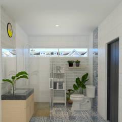minimalistic Bathroom by Arsitekpedia
