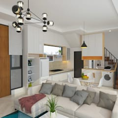 Living room by Arsitekpedia