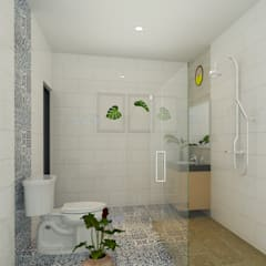 Bathroom by Arsitekpedia, Minimalist