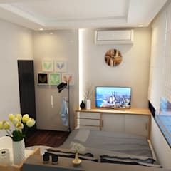 minimalistic Bedroom by Arsitekpedia