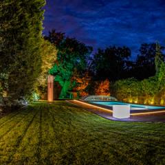 Piscinas de jardín de estilo  por Moreno Licht mit Effekt - Lichtplaner