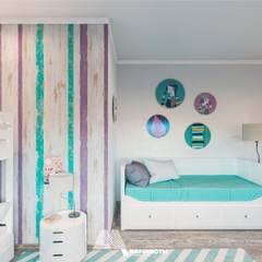 country Nursery/kid's room by Архитектурное бюро 'Маринисты'
