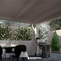 Жилом дом в пос.Лесной Остров: Дома в . Автор – Архитектурное бюро 'Маринисты'