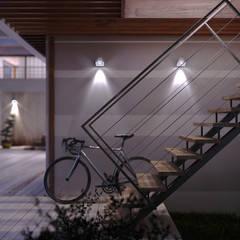 Villa Meral: Casa unifamiliare in stile  di Studio Corbetta architettura e design