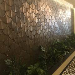 DESTONE YAPI MALZEMELERİ SAN. TİC. LTD. ŞTİ.  – O2 Cafe Tasarımı:  tarz Duvarlar