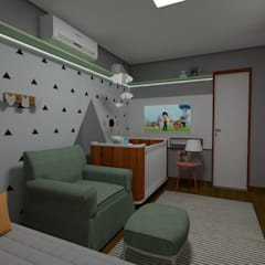 Baby room by Carolina Mendes Arquitetura