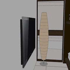 VIVIENDA MULTIFAMILIAR - BARRANCO - LIMA - PERÚ.: Dormitorios juveniles  de estilo  por juan carlos milla miranda