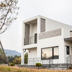 포전리주택: 8sky design의  주택,미니멀 우드 우드 그레인
