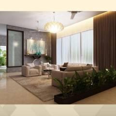 Salones de estilo  de Kurk Interiors