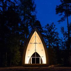 Salas de eventos de estilo  por sebastian kolm architekturfotografie
