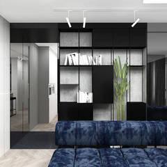 nowoczesna aranżacja salonu: styl , w kategorii Salon zaprojektowany przez ARTDESIGN architektura wnętrz