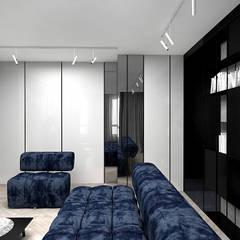 aranżacja pokoju dziennego: styl , w kategorii Salon zaprojektowany przez ARTDESIGN architektura wnętrz