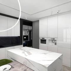 aranżacja kuchni: styl , w kategorii Kuchnia zaprojektowany przez ARTDESIGN architektura wnętrz